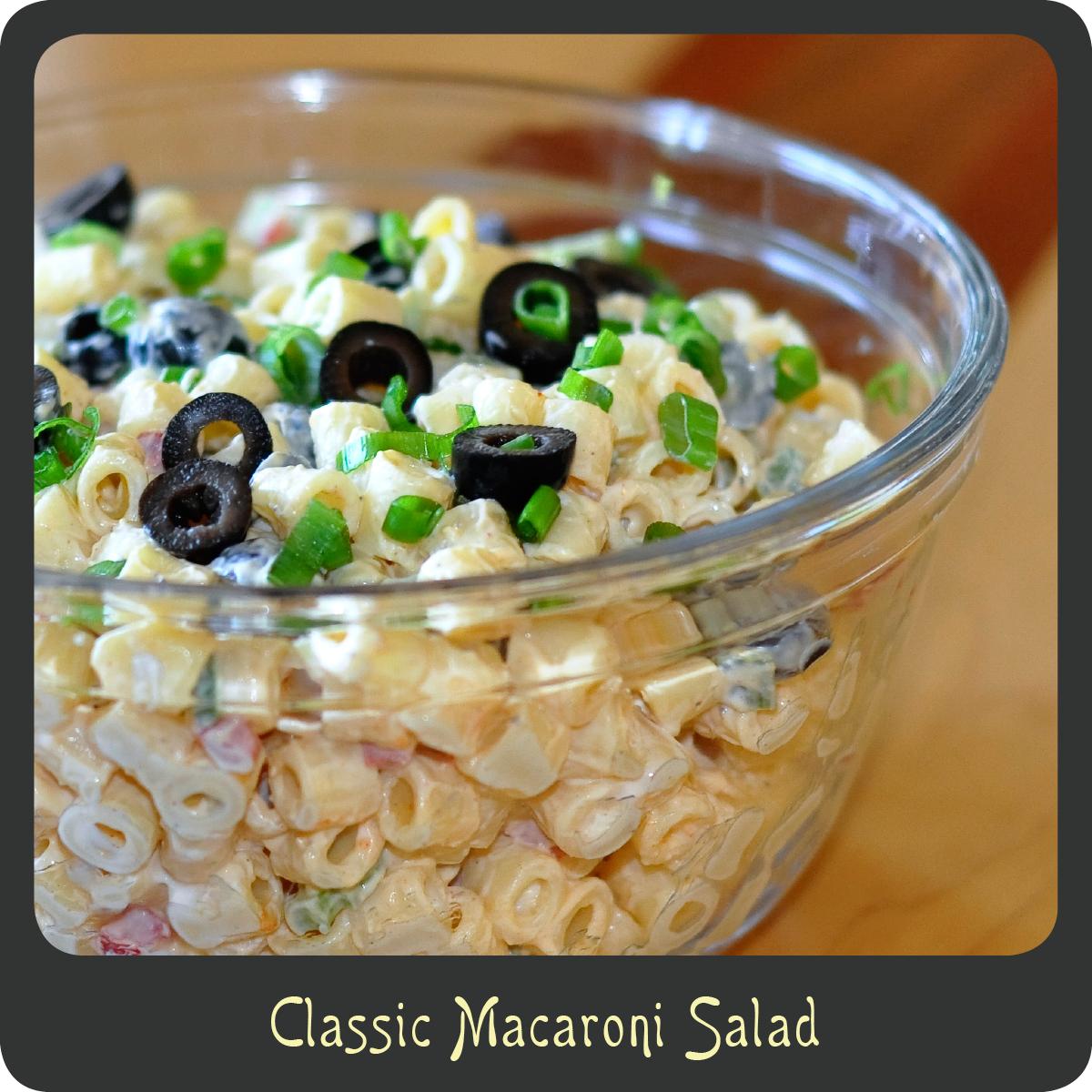 Recipe—Classic Macaroni Salad | Diva di Cucina