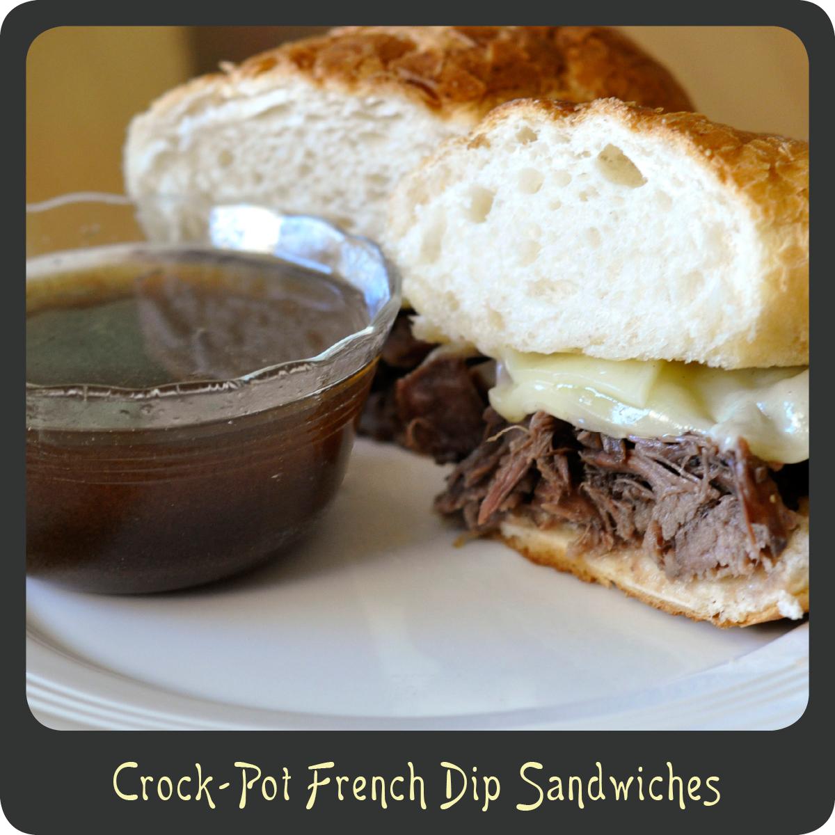 Recipe—Crock-Pot French Dip Sandwiches | Diva di Cucina