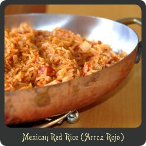 Recipe—Mexican Red Rice (Arroz Rojo)