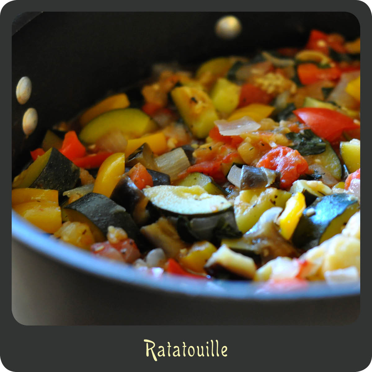 French Ratatouille Recipe: Recipe—Ratatouille