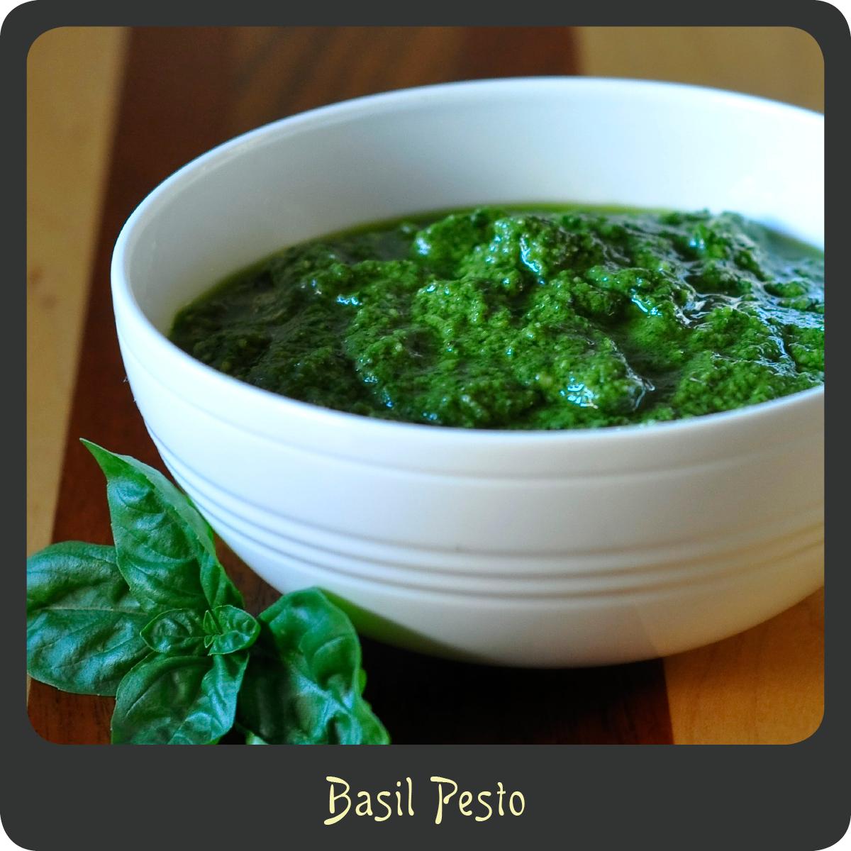 Recipe—Basil Pesto