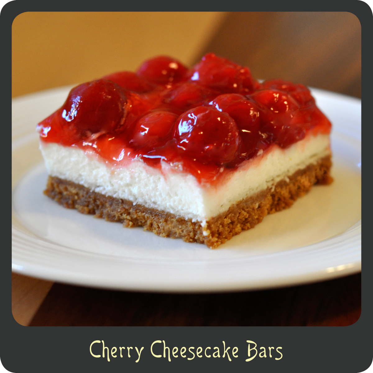 cheesecake bars almond streusel cherry cheesecake bars cherry ...