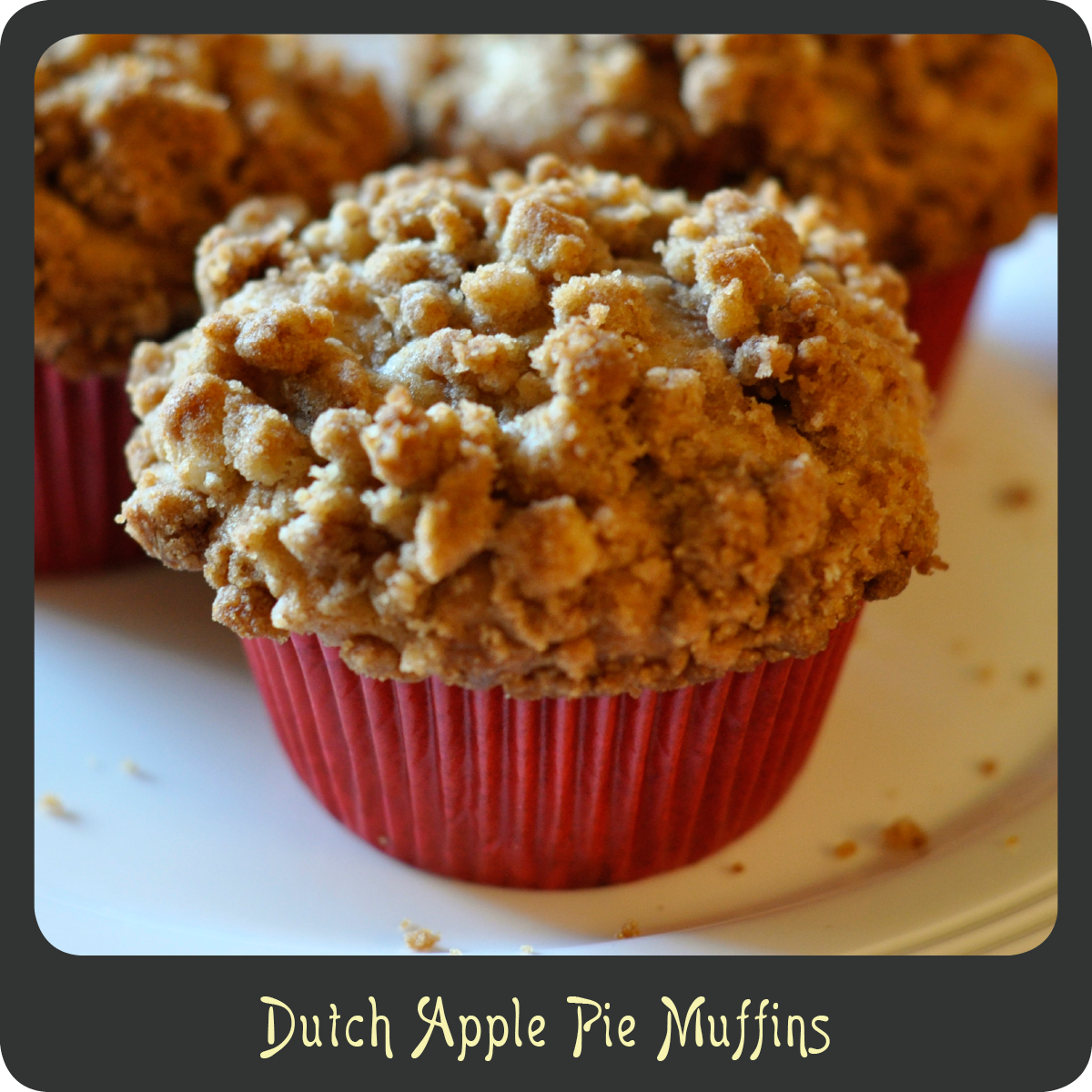 Recipe—Dutch Apple Pie Muffins | Diva di Cucina