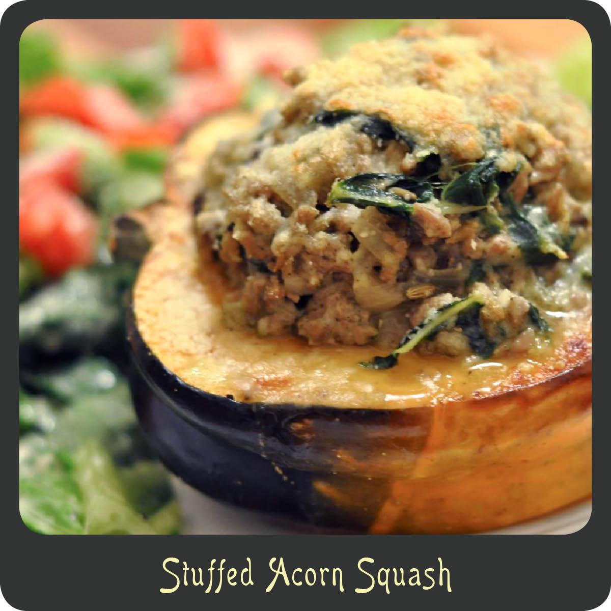 Recipe—Stuffed Acorn Squash