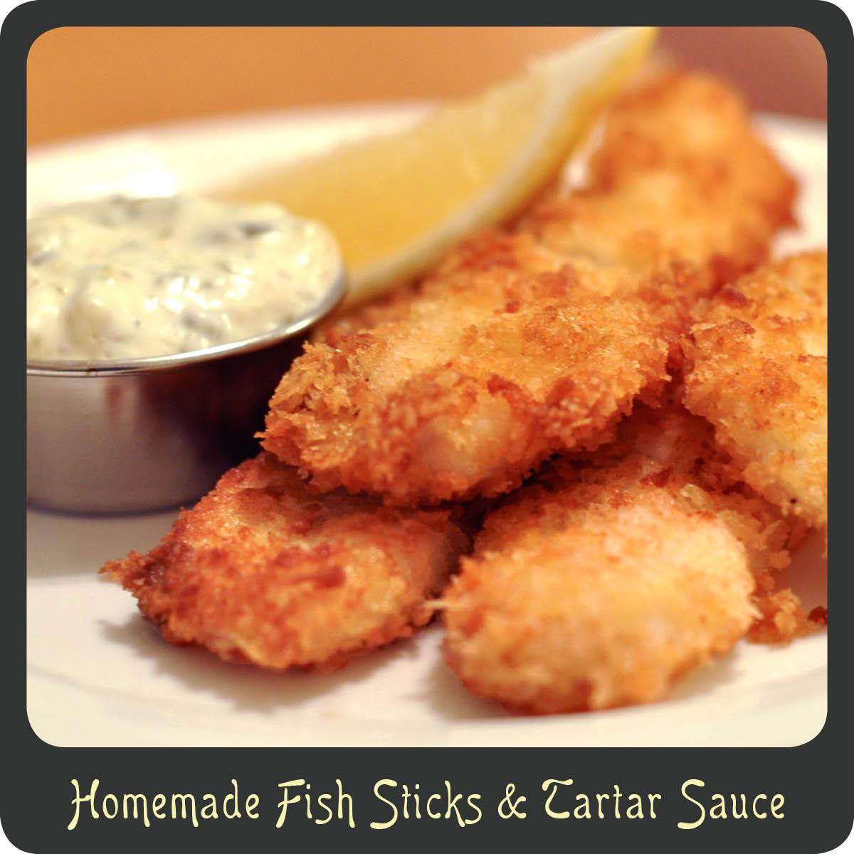 Recipe—Homemade Fish Sticks & Tartar Sauce | Diva di Cucina