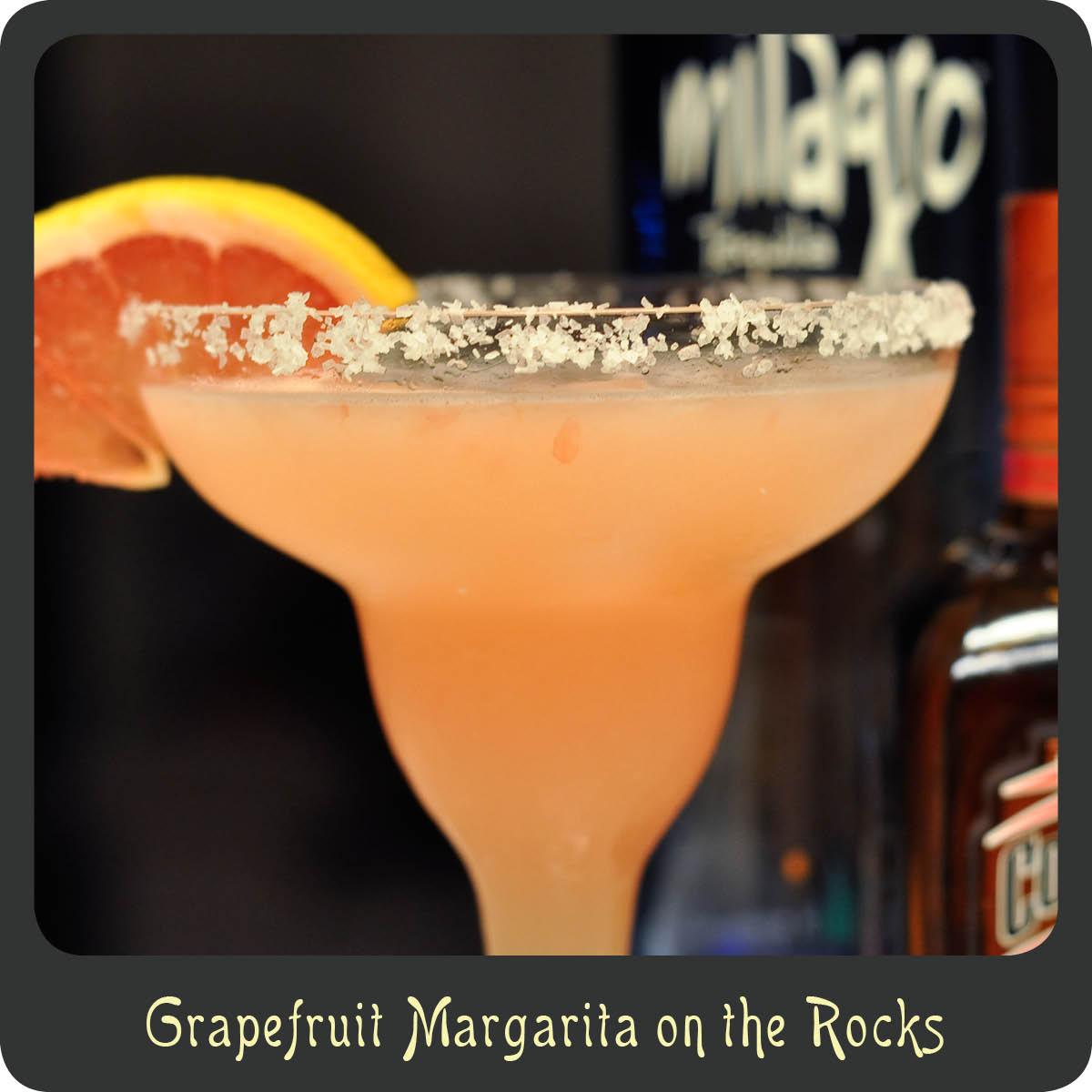 Recipe—Grapefruit Margarita On The Rocks