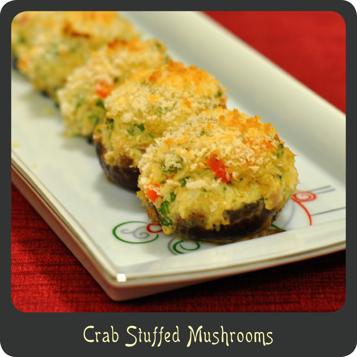 Recipe—Crab Stuffed Mushrooms | Diva di Cucina