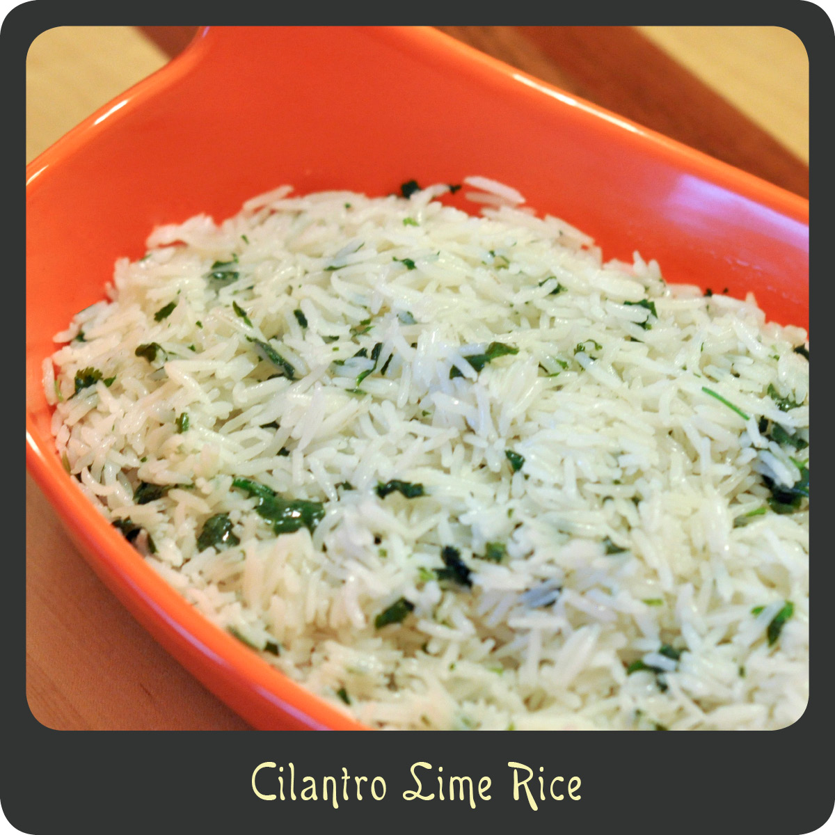 Recipe—Cilantro Lime Rice | Diva di Cucina