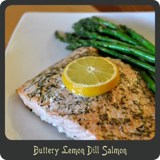 Buttery Lemon Dill Salmon