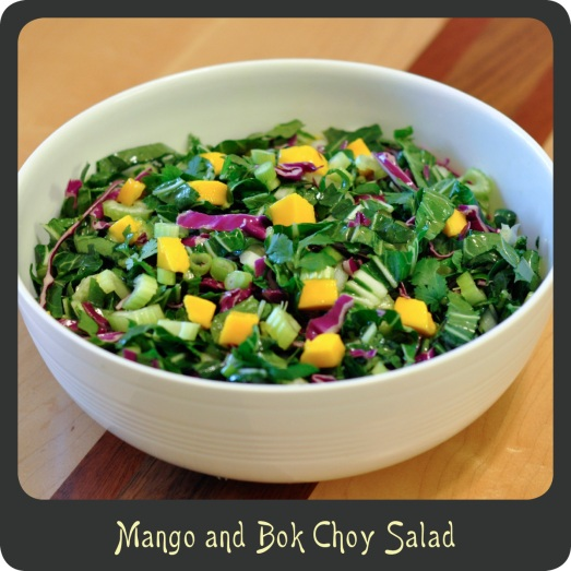Mango and Bok Choy Salad