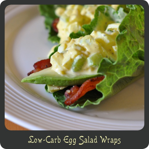 Low-Carb Egg Salad Wraps