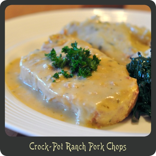 Crock-Pot Ranch Pork Chops