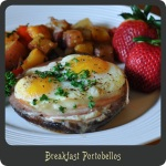 Breakfast Portobellos