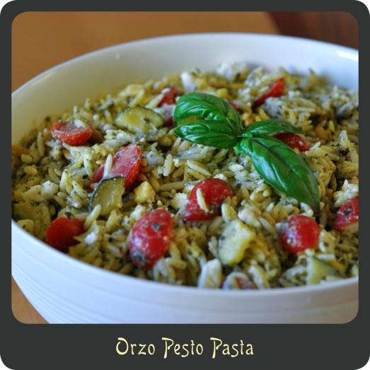 Orzo Pesto Pasta