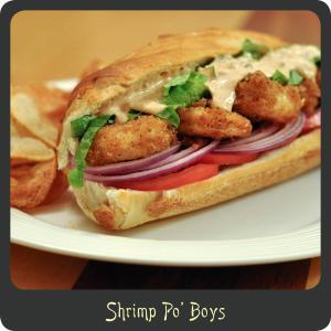 Recipe—Shrimp Po Boys