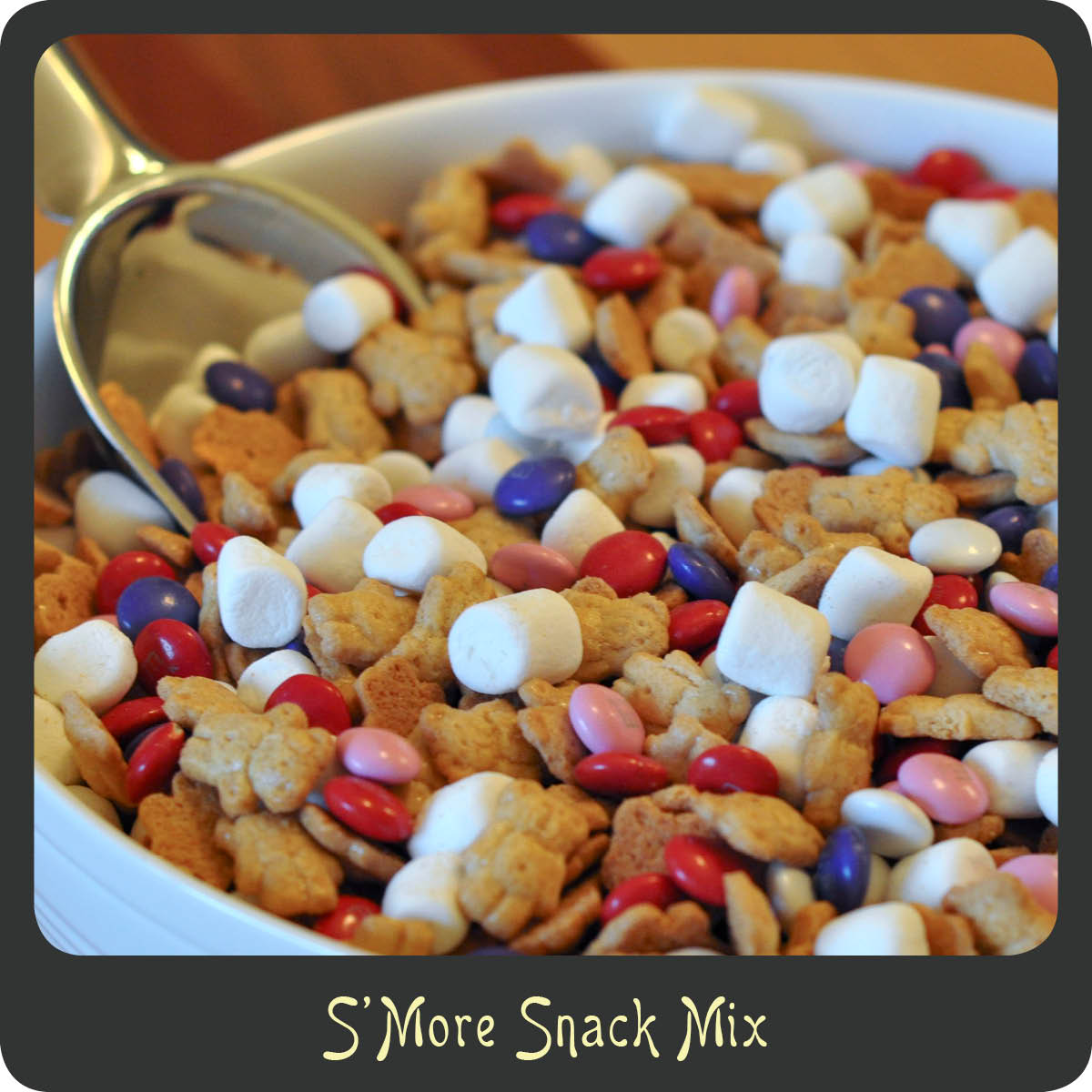 smore snack mix - Valentine Snacks For School