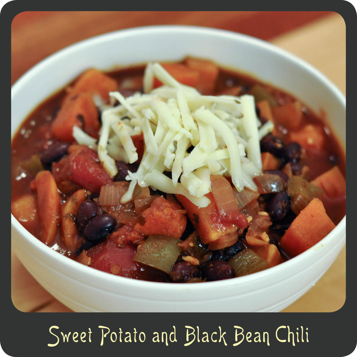 Recipe—Sweet Potato and Black Bean Chili