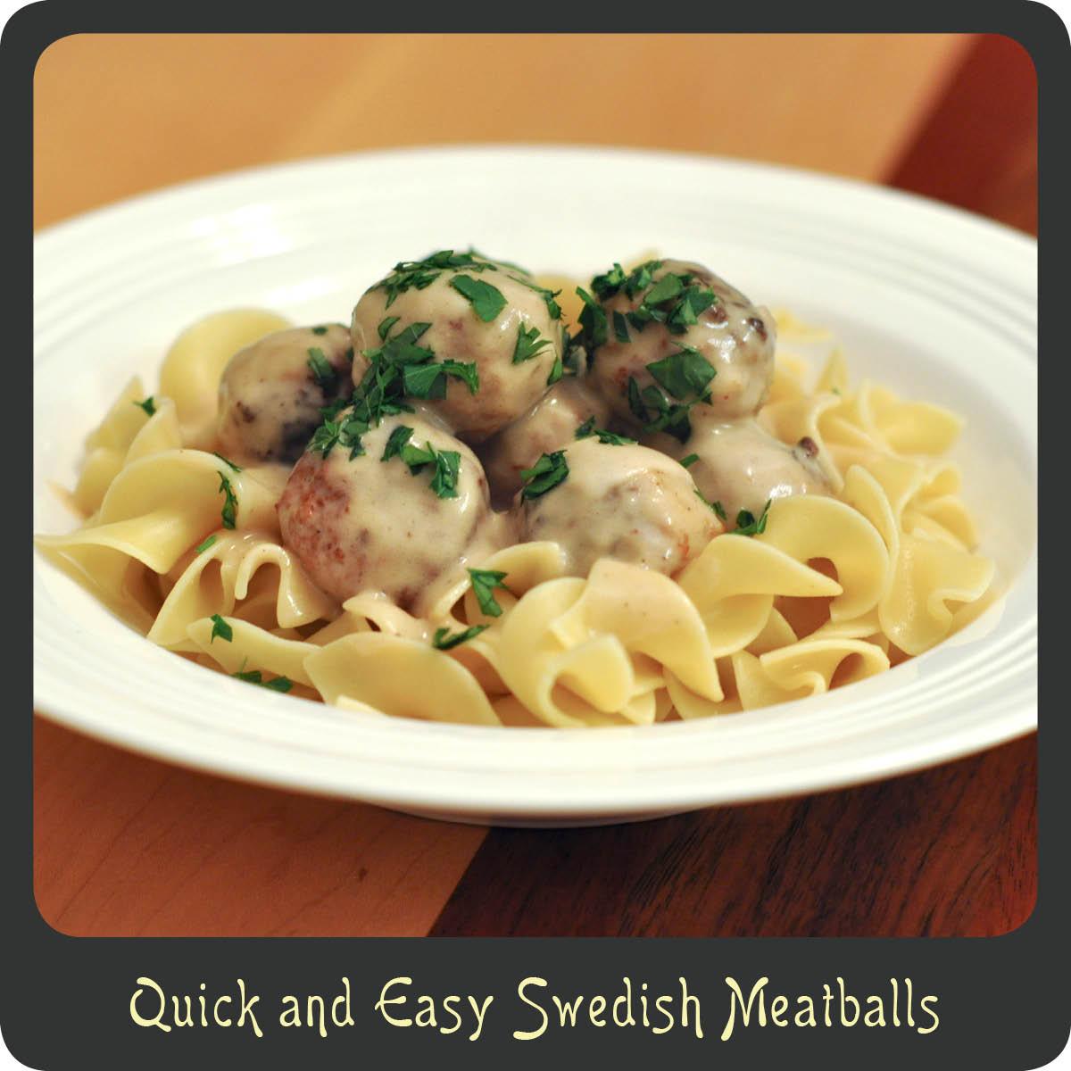 Fast And Friendly Meatballs Recipe — Dishmaps
