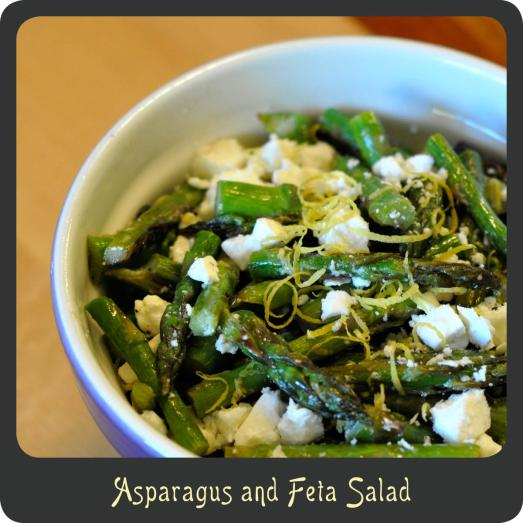 Asparagus and Feta Salad