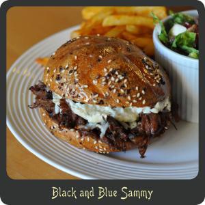 Black and Blue Sammy
