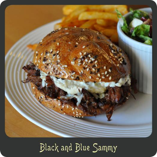 Black and Blue Sammy