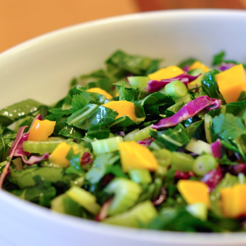 recipe mango and bok choy salad. Black Bedroom Furniture Sets. Home Design Ideas