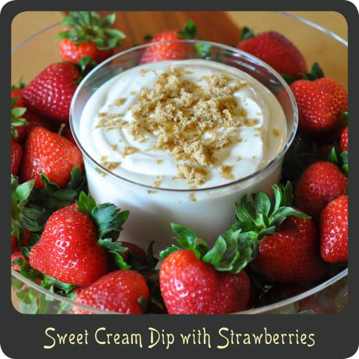 Sweet Cream Dip