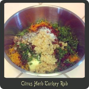 Citrus Herb Turkey Rub
