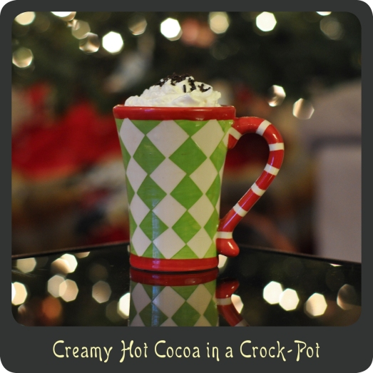 Homemade Hot Cocoa in a Crock-Pot