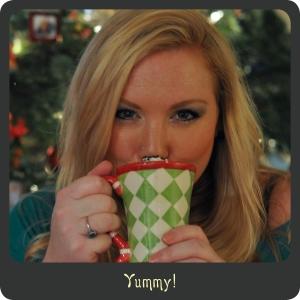 Enjoying Hot Cocoa