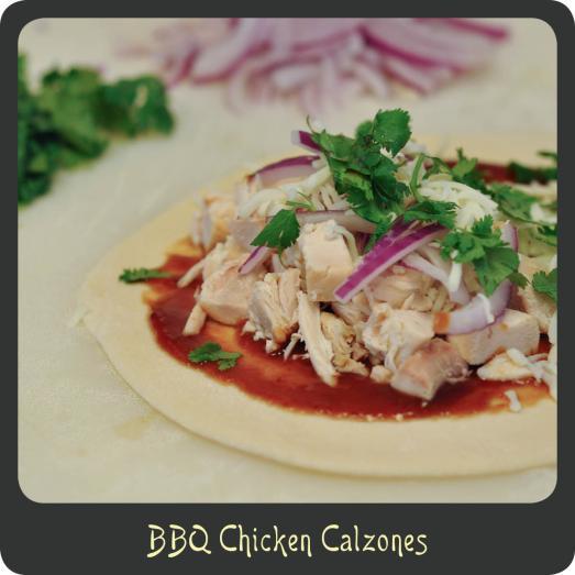 BBQ Chicken Calzones