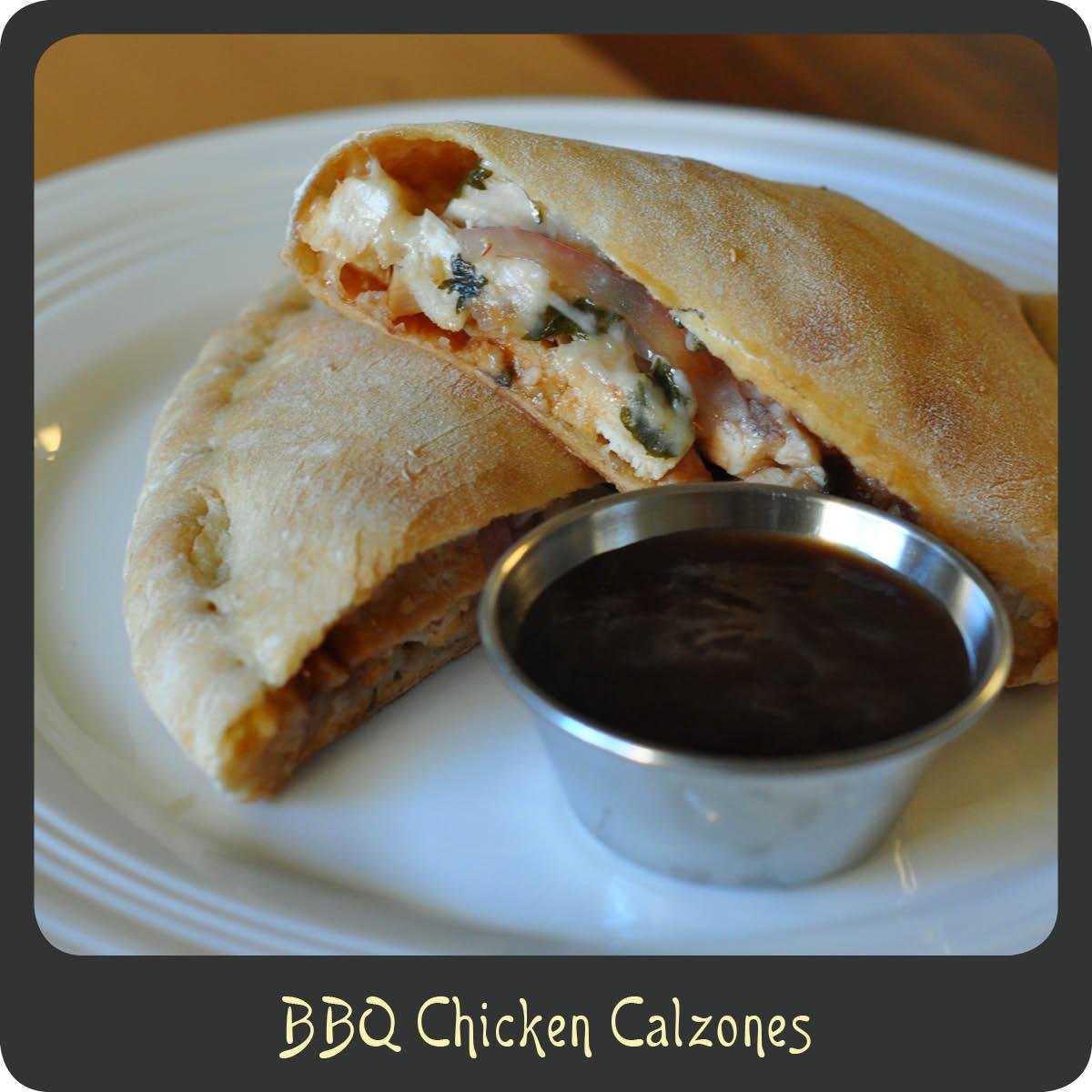 Recipe—BBQ Chicken Calzones | Diva di Cucina