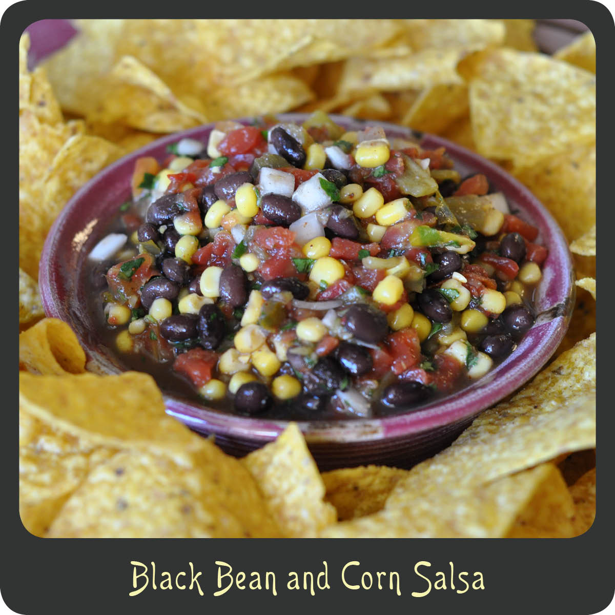 Recipe—Black Bean and Corn Salsa | Diva di Cucina