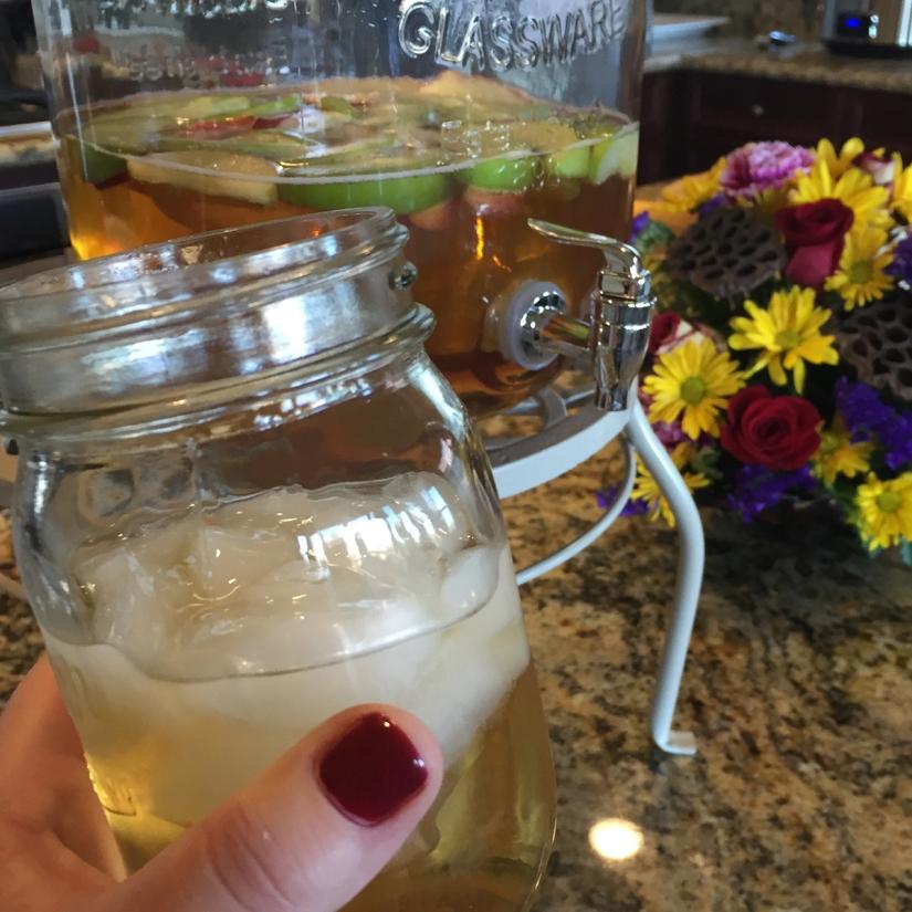 Recipe—Apple Cider Sangria