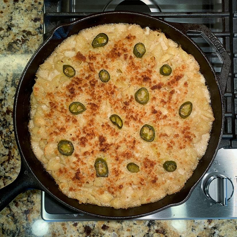 Jalapeño Popper Mac N' Cheese