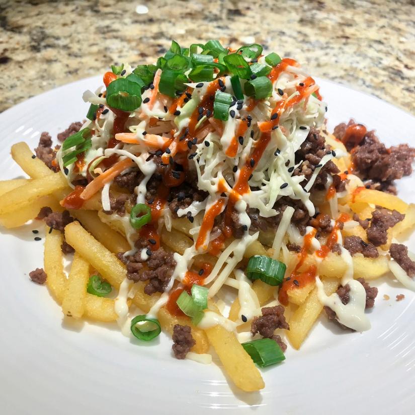 Recipe—Loaded Korean Beef Fries