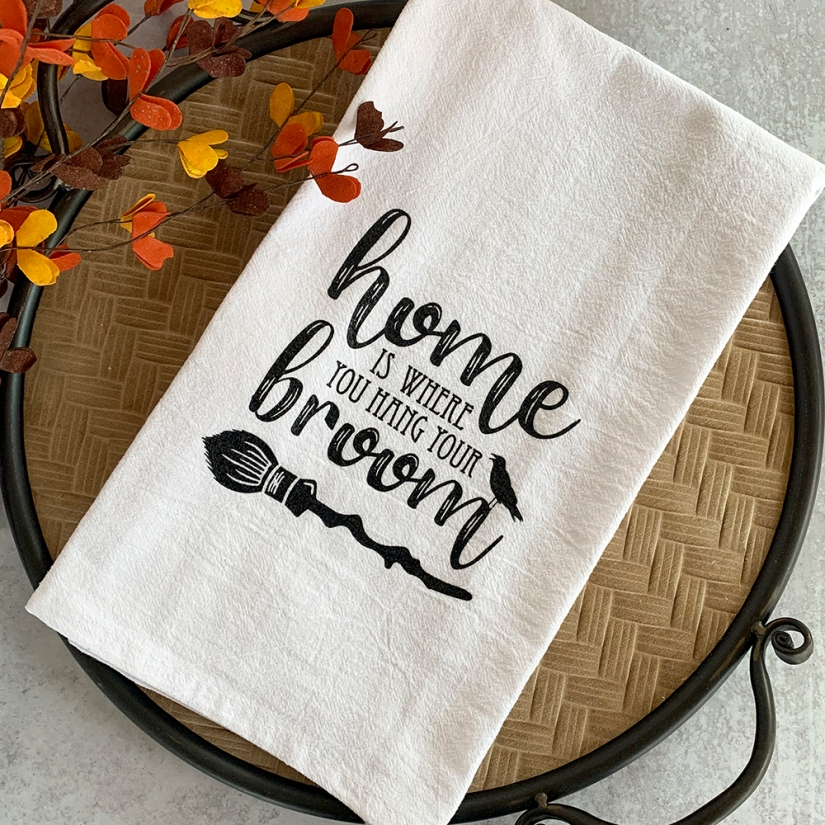 Home is Where you Hang Your Broom Towel