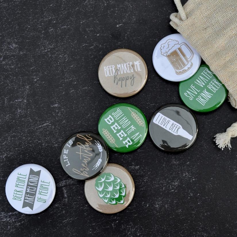 Beer Magnet Set