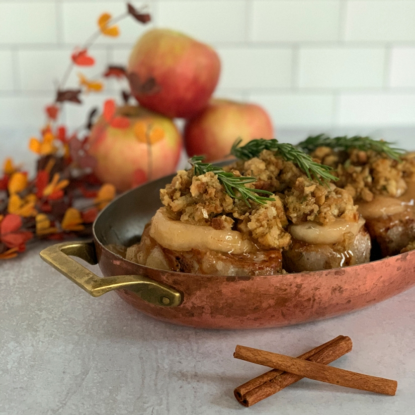 Apple Pie Pork Chop
